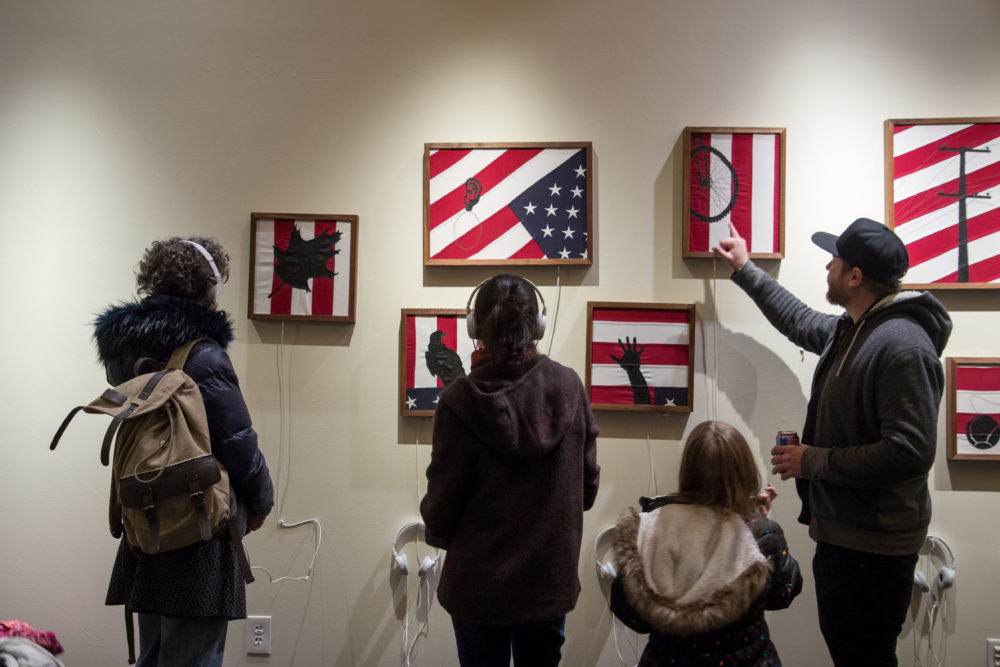 Touch exhibition at the Dairy Arts Center