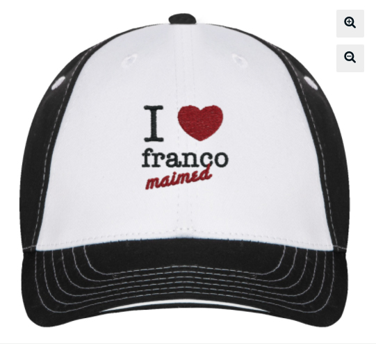 trucker hat- 'I love franco maimed'