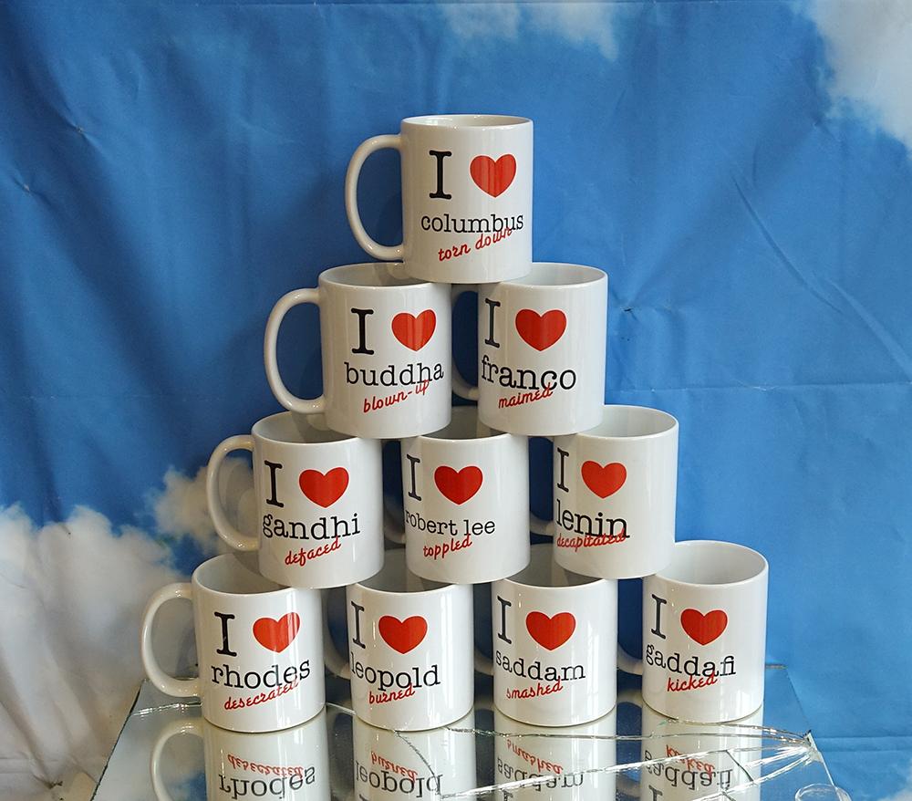 Set of 10 mugs